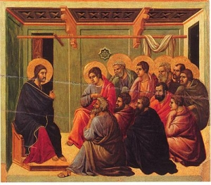 Christ Taking Leave of the Apostles small