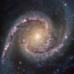 Spiral Galaxy NGC 1566, courtesy www.nasa.gov