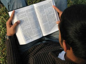 Scripture Reading in Park_small