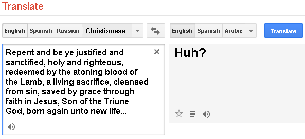 Translating Christianese 4
