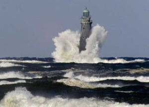 Minots Ledge Lighthouse, Mass. coast